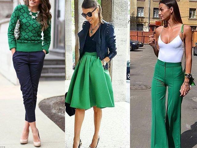 Instagram media by blogcaentrenos - O verde esmeralda é um tom bastante versátil, que na moda serve tanto para mulheres quanto para homens, de todos os estilos, idades e etnias. Os looks produzidos com esta cor podem ser usados durante o dia ou à noite, em trajes formais ou informais. Este verde combina também com outras cores, como azul e laranja, além também das estampas de oncinha, florais e listras em preto e branco. ✔️✔️#Moda #Viagens #Verde #Acessorios  #Badulaques  #Bride...