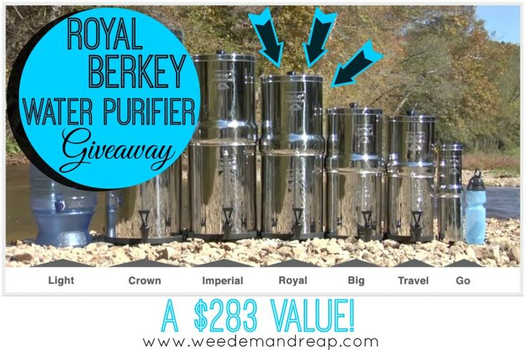 GIVEAWAY: Royal Berkey Water Purifier ($283 Value) | Weed'em & ReapWeed'em & Reap