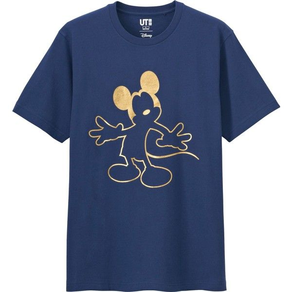 UNIQLO Men's Disney Project Chinese New Year Graphic Tee (€14) ❤ liked on Polyvore featuring men's fashion, men's clothing, men's shirts, men's t-shirts, blue, mens blue t shirt, mens graphic t shirts, mens t shirts and mens blue shirt