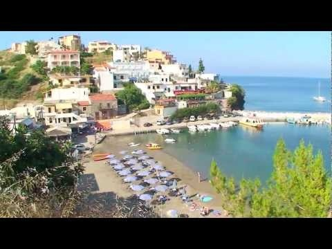 Bali in Crete - stayed here  ate many a meals in the restaurant with red fencing  many others