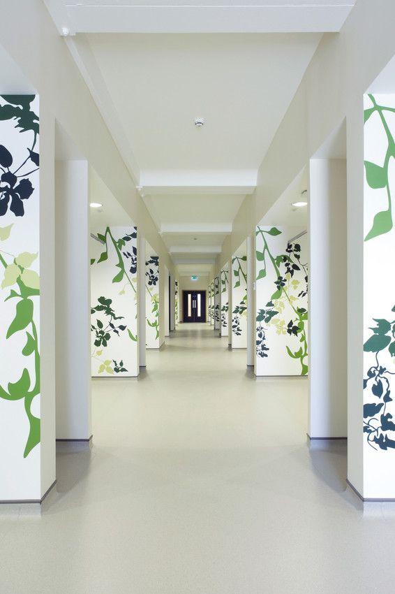 Circle Hospital Reading - UK Mipolam Symbioz #Gerflor #flooring #floor #professionals #healthcare