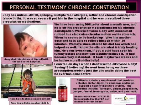 DiGize - Chronic constipation