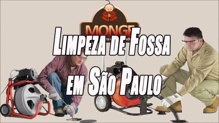 Limpeza de Fossa em São Paulo - Desentupidora Monge
