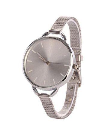 ChangeshoppingTM-Gold-Girls-Women-Ladies-Analog-Stainless-Quartz-Bracelet-Wrist-Watch-0