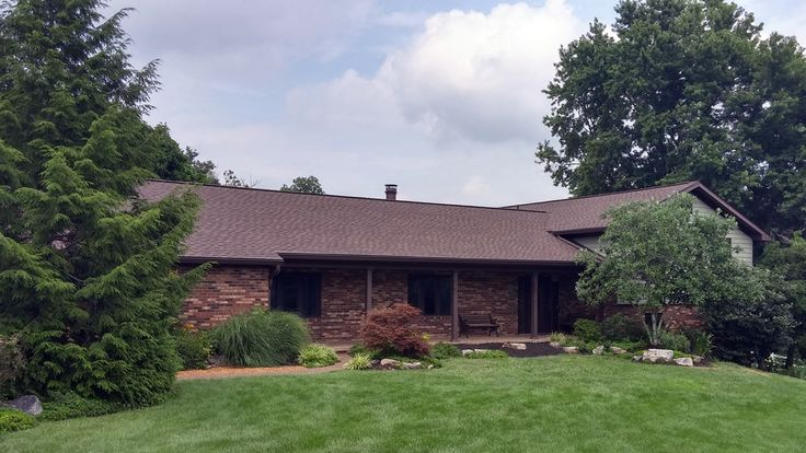 New Timberline Hd Asphalt Shingles In The Color Barkwood