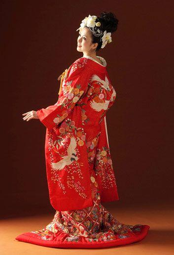 wedding kimono Uchikake