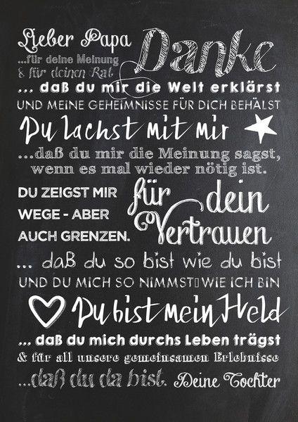 Danke Papa Text : 266 best muttertag und vatertag images on pinterest small gifts craft ideas and hand made gifts ~ Watch28wear.com Haus und Dekorationen
