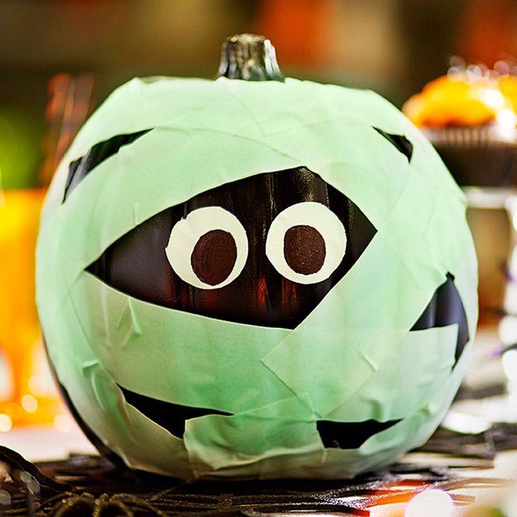 334 best pumpkin ideas images on pinterest pumpkin ideas for Glow in the dark paint for real pumpkins