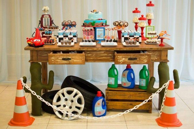 Festa Infantil: Festa Carros e Aviões