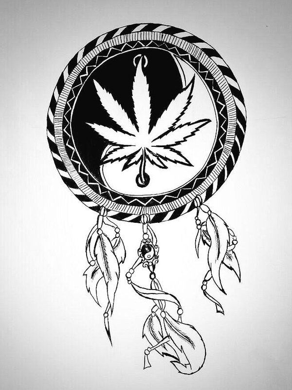35 best dream catcher tattoo designs weed images on for The california dream tattoo shop