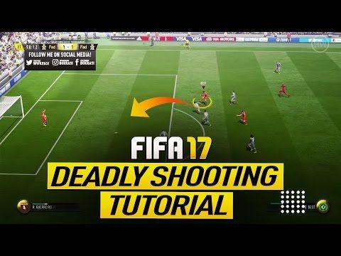 FIFA 17 NEW UNSAVEABLE SHOOTING TECHNIQUE TUTORIAL (SHORT & LONG DISTANCE) - SECRET TIPS & TRICKS - YouTube