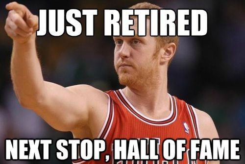 Farewell to Brian Scalabrine (a.k.a. White Mamba).  Best of luck in your retirement.