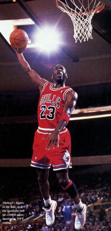 Michael Jordan - Air Jordan 6