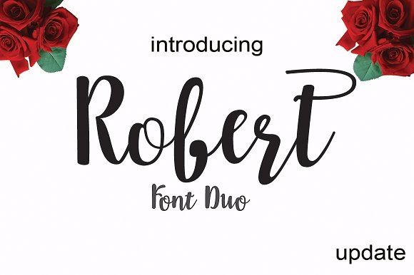 Robert update by cooldesignlab on @creativemarket