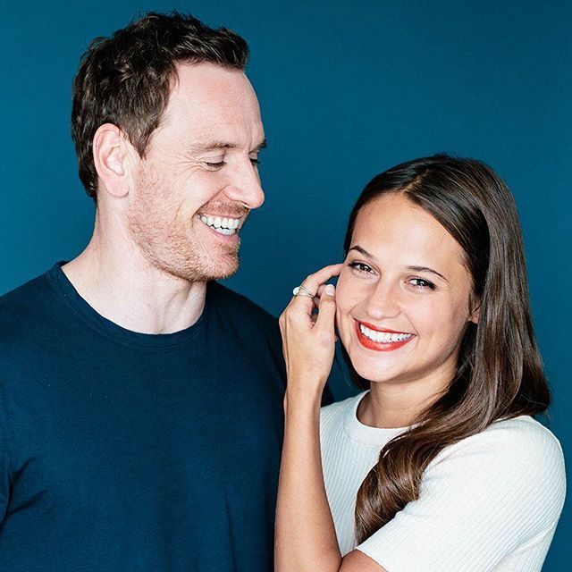 Alicia Vikander and Michael Fassbender are starring in @thelightbetweenoceans…
