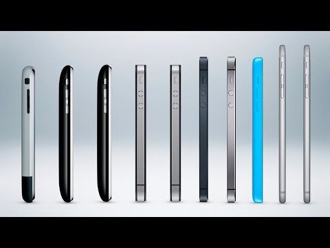 History of the iPhone - YouTube