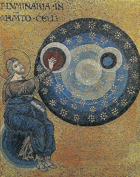 Сотворение мира. Мозаика