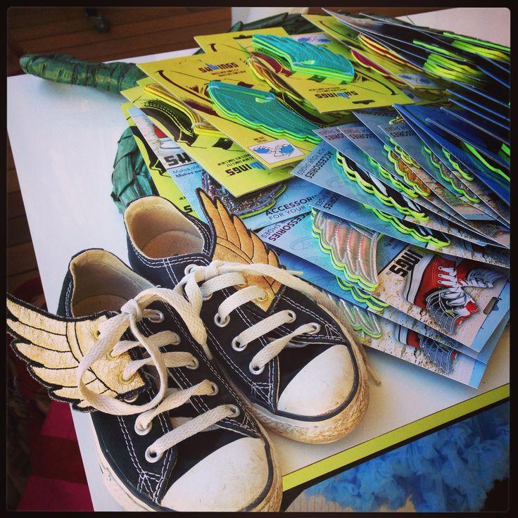 Shwings wings for shoes!!! www.missflamingo.gr