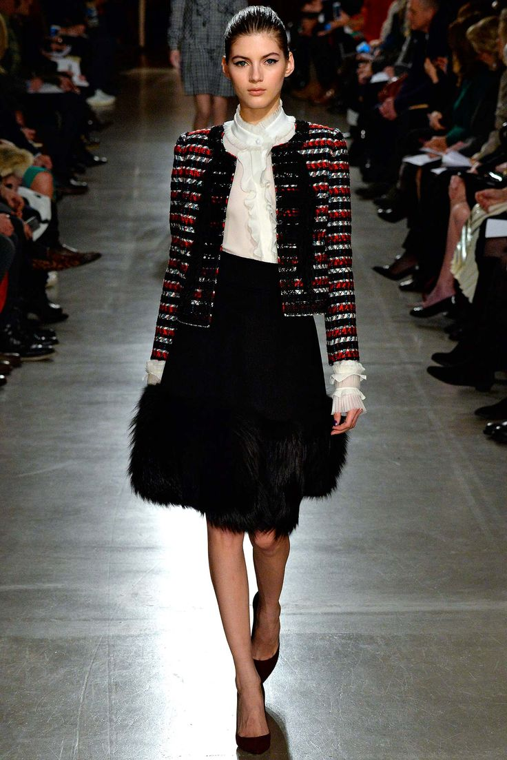 oscar de la renta fall 2015 // girl for granted