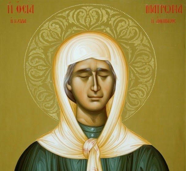 """✟: Αγία Ματρώνα: """"Θα βάλουν μπροστά σας τον """"Σταυρό"""" και το """"Ψωμί"""" και θα σας πούν διαλέξτε!"""""""