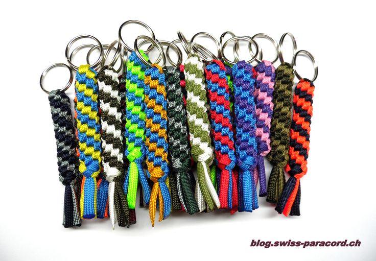 Schlüsselanhänger in allen Farben