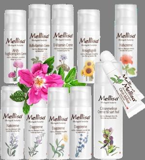 Skønhedsprodukter fra Mellisa