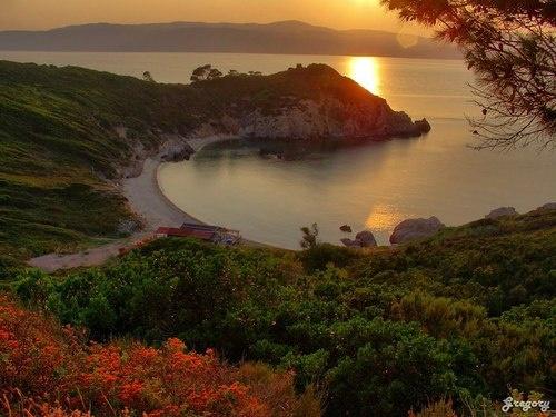 Kryfi Ammos beach, Skiathos