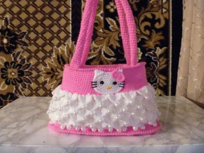 Hello Kittyli çanta modelleriCrochet Bags, Amigurumi Aşkına, Crochet Tutorials, Handbags Pattern, Crochet Geek, En Image, Crochet Purses, Hello Kitty Purses, Hello Kitty Bag
