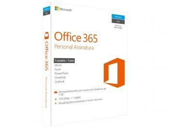 O Office 365 é excelente para PC, Mac ou tablet, pois ajuda você a fazer tudo, em praticamente qualquer lugar, em todos os seus dispositivos. Além disso, ele está sempre atualizado, de modo que você nunca terá de se preocupar se está com versões antigas.https://goo.gl/bTVv1dMicrosoft Office 365 Personal - 1TB de Armazenamento Válidos por 1 Ano