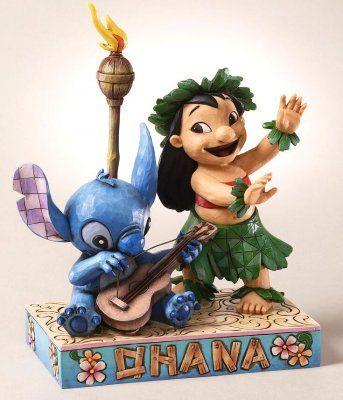 Fantasies Come True - Disney collectibles and memorabilia - 'Ohana Means Family' (Jim Shore) - Lilo Stitch
