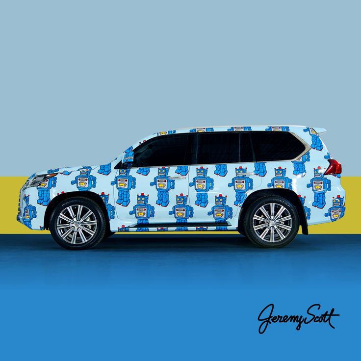 The Lexus LX By Jeremy Scott Is Ready For Its Strut Down The Streets Of New