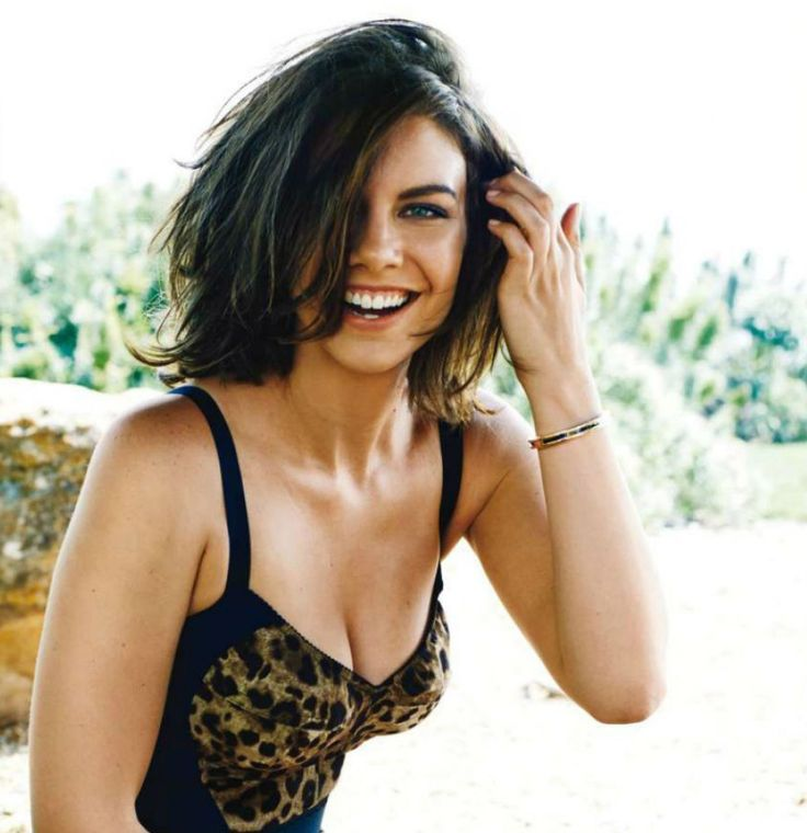 Lauren Cohan....gorgeous hair cut!