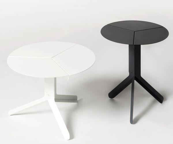 Sliced Table Black by Frederik Roijé