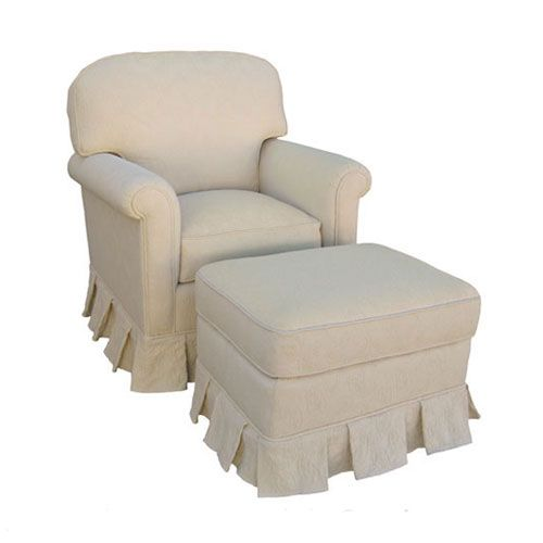 nantucket continental glider in ecru from poshtots nursery glider neutral ottoman