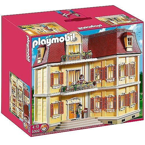 Toys r us playmobil gran casa de mu ecas 5302 playmobil pinterest playmobil - Gran casa de munecas playmobil ...
