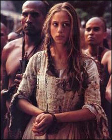 Jodhi May playing Alice Munro (always LOVED HER BRAID, and I used to think she was Karen, the hippie sister from The Wonder Years) - The Last of the Mohicans movie has the BEST soundtrack