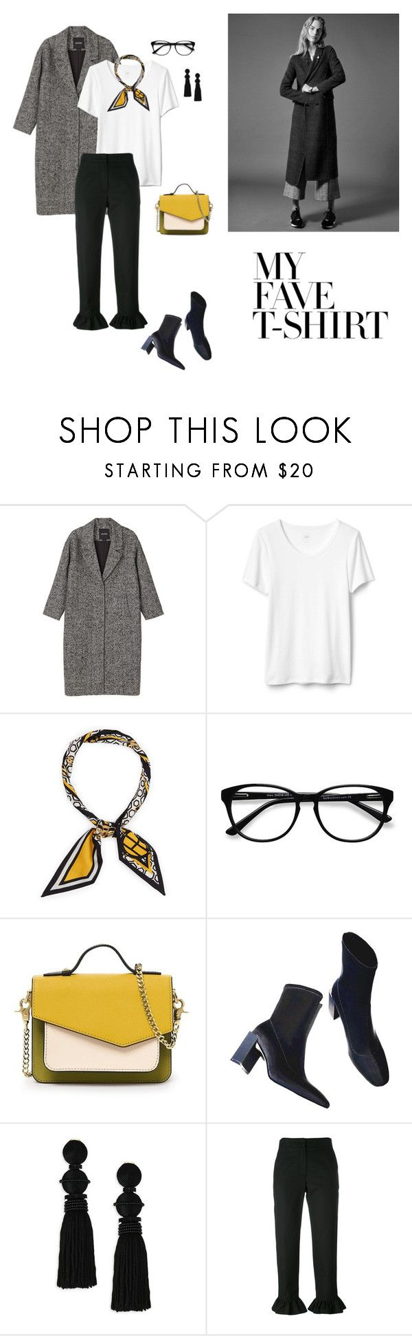 """10/02"" by dorey on Polyvore featuring Monki, Henri Bendel, EyeBuyDirect.com, NATAF, Oscar de la Renta and MSGM"