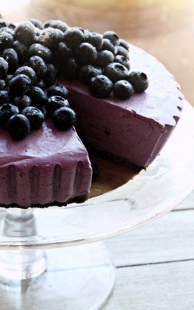 must make...Blueberry Cheesecake