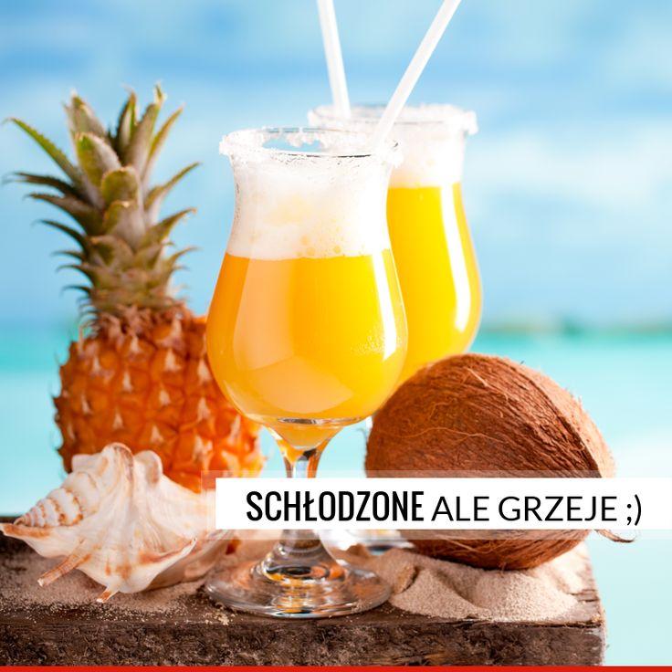 Gina-Colada Składniki: LUBUSKI GIN - 50ml Rum kokosowy – 25 ml Ananas – plaster ok. 1 cm. Syrop cukrowy – 25 ml Sok z limonki Sok z pomarańczy – 30 ml Śmietana – 3 łyżeczki Lód  Przygotowanie: Wszystkie składniki wrzucamy do blendera i mielimy na gładki koktajl.