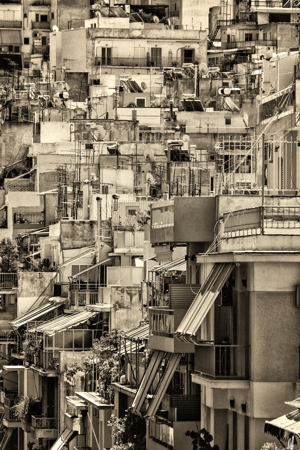 Athens, Greece... A concrete jungle in some points...