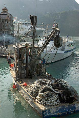 fishing boat, Whittier Harbour, Alaska