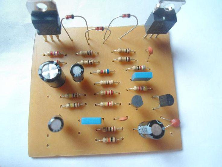Montagem do Amplificador PL1050                                                                                                                                                                                 Mais