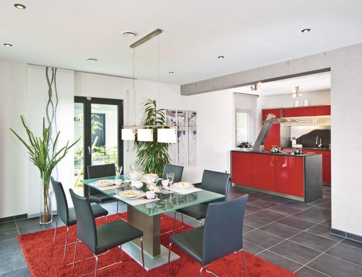 57 best WeberHaus u2013 Küchen images on Pinterest Flat roof, Garten - bilder f r k che und esszimmer