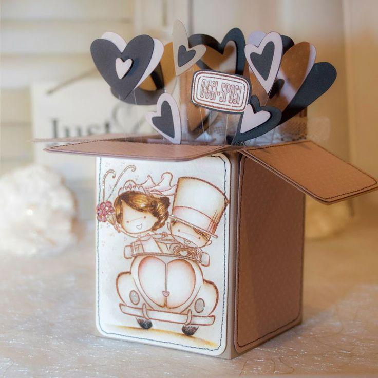 le timbrine di Impronte: Una card piena di amore...