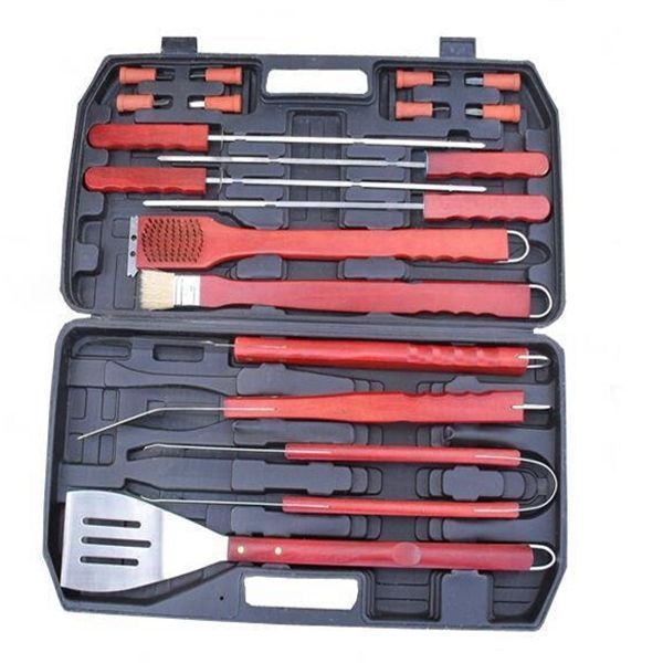 Portable BBQ Tool Set Good Helper BBQ Grill Outdoor Picnic Barbecue Kitchen Uten #Unbranded