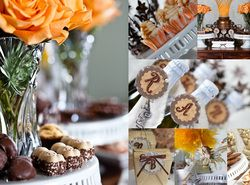 "Fall Baby Shower / Baby Shower/Sip & See ""Antique Baby Shower"" 