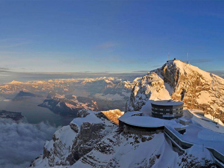 Hier ist der Name Programm: Im Hotel Bellevue auf dem Pilatus bei Luzern | Schweiz | Schöne Aussichten (garantiert!)
