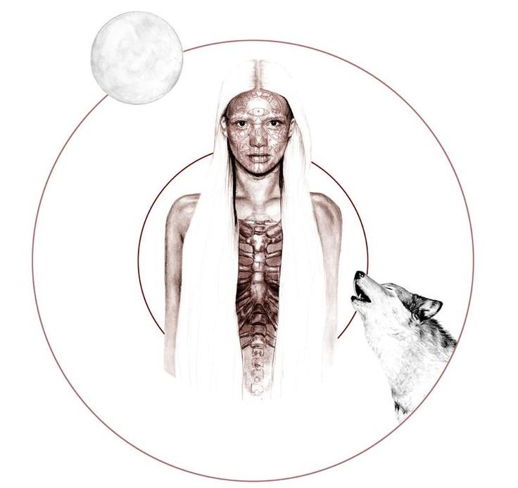Must be the moon    Abbey Watkins: Art Illustrations, Illustrations Inspiration, Artists Journals, Beauty Illustrations, Watkin Illustrations, Art Culture, Fashion Illustrations, Drawings Artculturemodemusiqu, Abbey Watkin