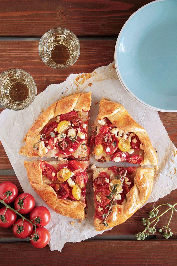 galette με ντοματίνια, ξινομυζήθρα και φέτα (5)
