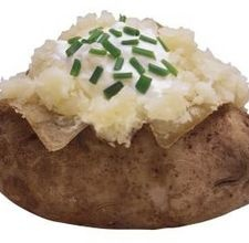 Baked potatoes in crock pot. I like this recipe/instructions better! Making thes